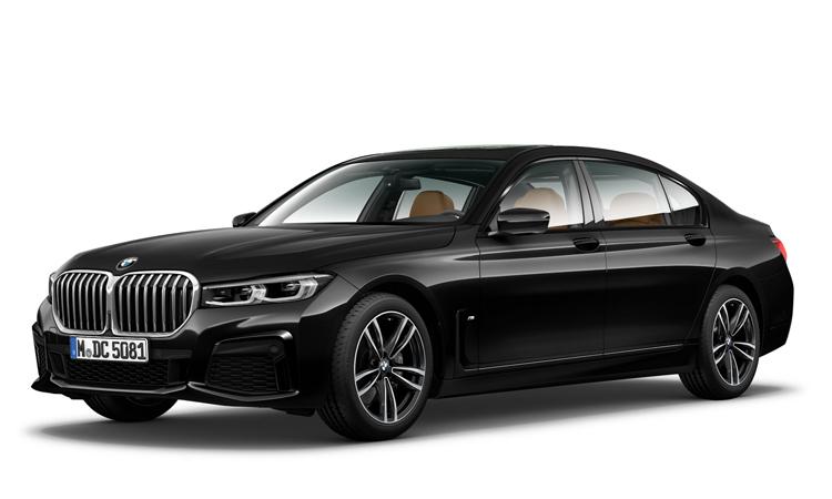 BMW 730Ld sDrive M Sport สีดำ