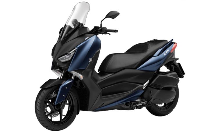 Yamaha XMAX 300 สีน้ำเงิน