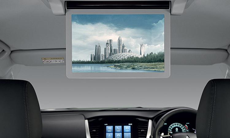 จอทีวีสำหรับผู้โดยสาร Mitsubishi Pajero Sport 2020
