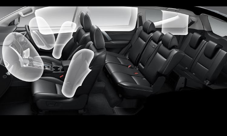 ถุงลม Mitsubishi Pajero Sport 2020