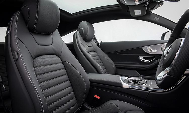 ดีไซน์เบาะหน้า Mercedes-Benz C 200 Coupe' 2020
