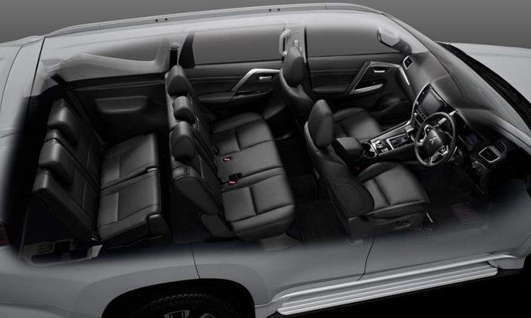 การจัดแถวเบาะนั่ง Mitsubishi Pajero Sport 2020
