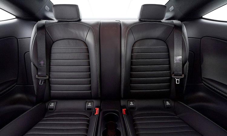 เบาะหลัง Mercedes-Benz C 200 Coupe' 2020