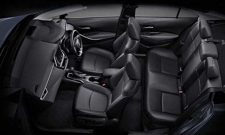 ภายใน Toyota Corolla Altis