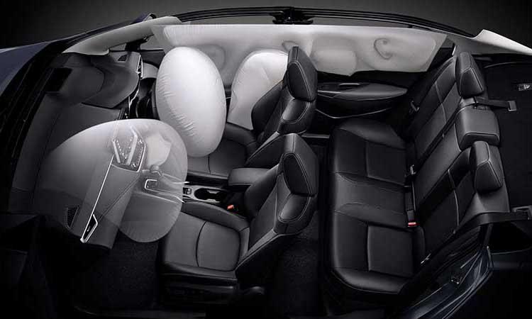 ถุงลม Toyota Corolla Altis