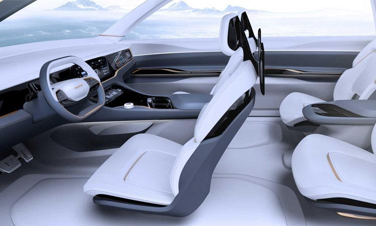 ภายใน Chrysler Airflow Vision Concept