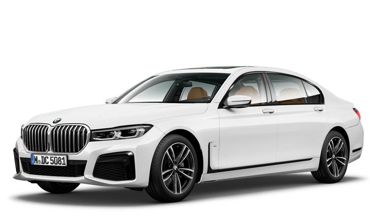 BMW 730Ld sDrive M Sport สีขาว