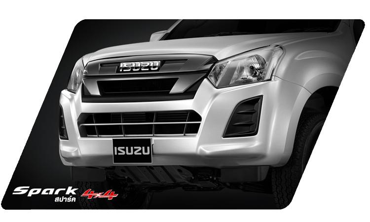 ดีไซน์ด้านหน้า ISUZU D-MAX SPARK 2020