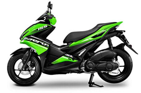 ราคา ตารางผ่อนดาวน์ Yamaha Aerox 155 2020-2021