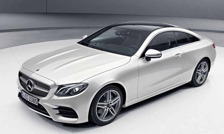 Mercedes-Benz E200 Coupé AMG Dynamic 2020 สีขาว Diamond White Bright (สีสั่งพิเศษ)