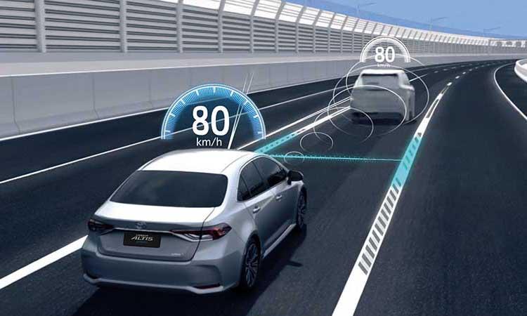 ระบบความปลอดภัย Toyota Corolla Altis