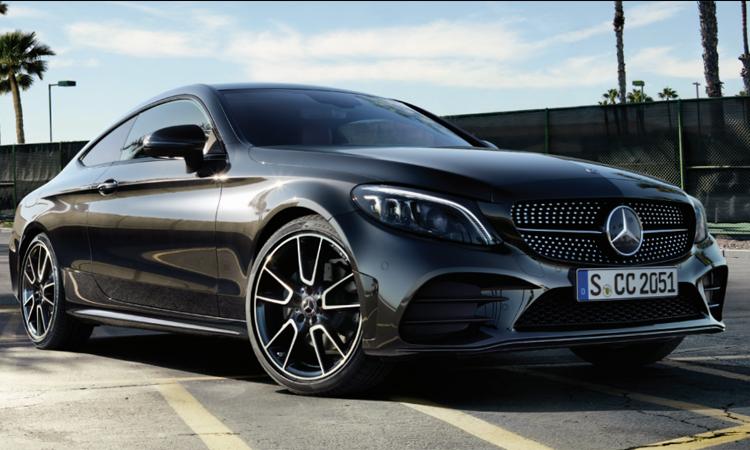 Mercedes-Benz E200 Coupé AMG Dynamic 2020 สีดำ