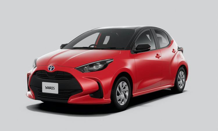 ดีไซน์้านหน้า Toyota Yaris 2020