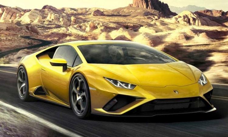 ดีไซน์ Lamborghini Huracan EVO RWD