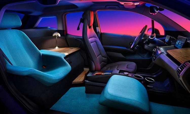 ภายใน BMW i3 Urban Suite