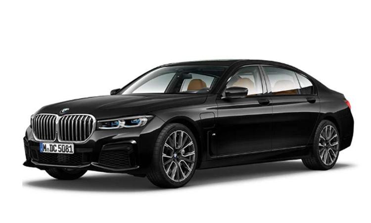 BMW 745Le xDrive M Sport สีดำ Black Sapphire