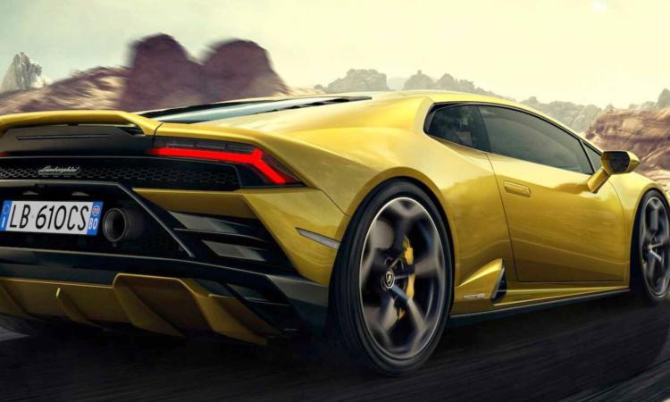 รูปลักษณ์ Lamborghini Huracan EVO RWD