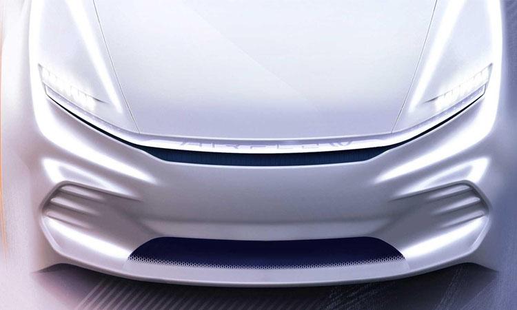 ด้านหน้า Chrysler Airflow Vision Concept