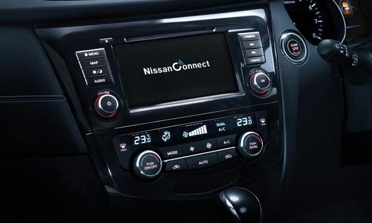 ปุ่มควบคุม Nissan X-Trail HYBRID Minorchange