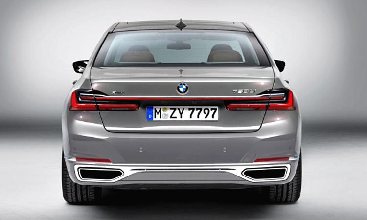 ท้าย BMW 745Le xDrive M Sport