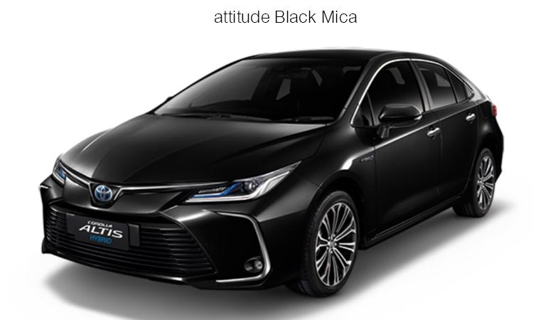 สีตัวถังภายนอก Toyota Corolla Altis