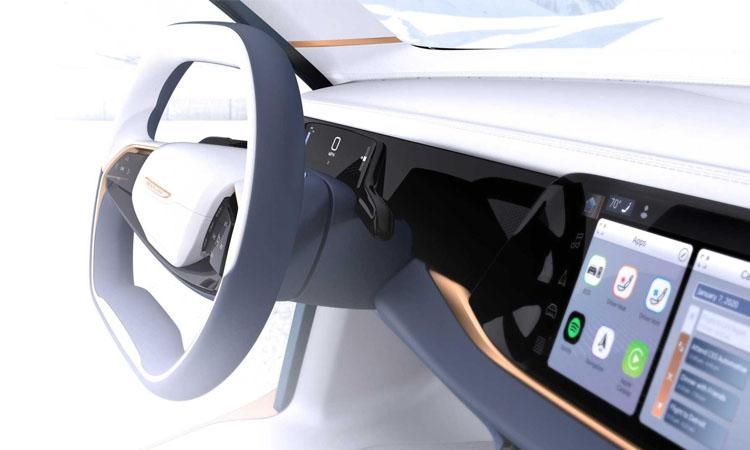 พวงมาลัย Chrysler Airflow Vision Concept