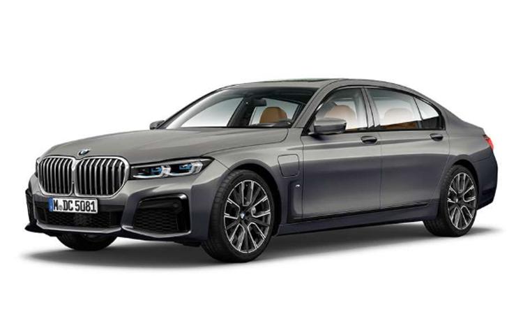BMW 745Le xDrive M Sport สีเทา Bernina Grey