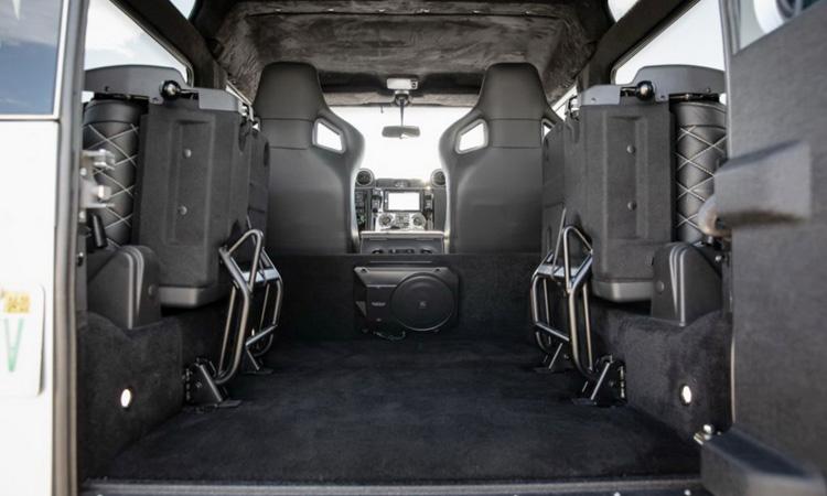 การปรับเบาะ Land Rover Defender Blackcom