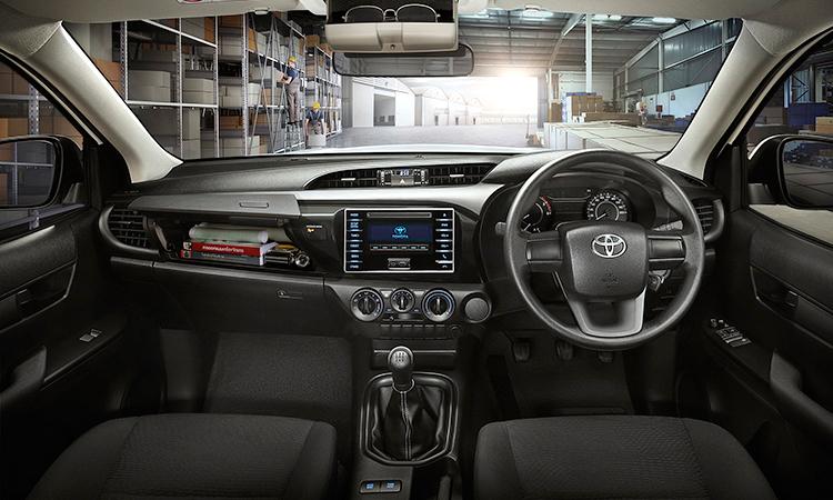 ภายใน Toyota Hilux Revo Z Edition Smart Cab
