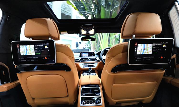 ดีไซน์ภายใน BMW 745Le xDrive M Sport