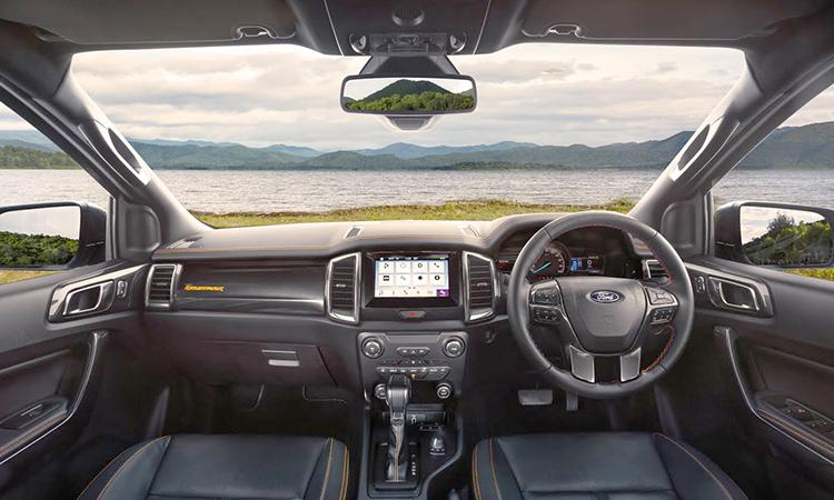 ภายใน Ford Ranger Wildtrak 2.0 Bi-Turbo 4WD