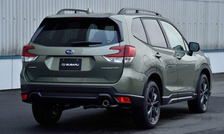 ท้าย Subaru Foreste X-Edition
