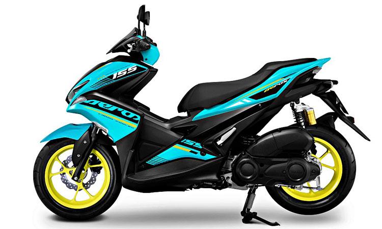 Yamaha Aerox 155 เขียวมิ้นดำ