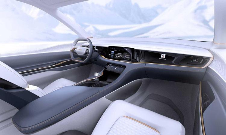 ห้องโดยสาร Chrysler Airflow Vision Concept