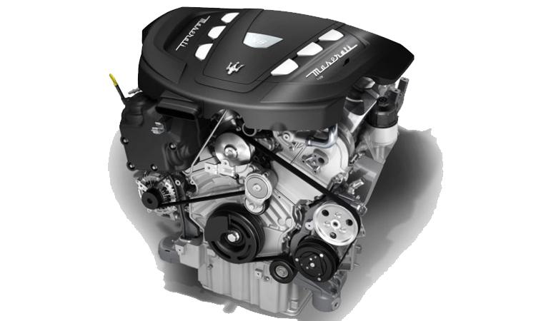 เครื่องยนต์ Maserati Quattroporte Diesel V6 3.0 Turbo