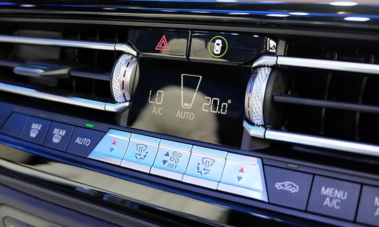 แผงควบคุม BMW Z4 M40i