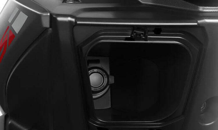 ช่องเก็บของ Yamaha Aerox 155