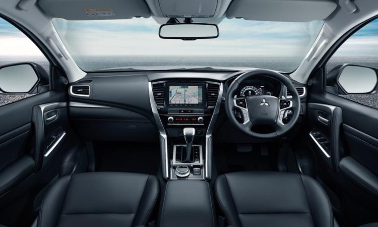 ดีไซน์ภายใน Mitsubishi Pajero Sport 2020