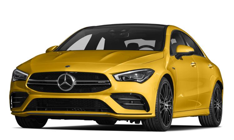 Mercedes-AMG CLA 35 4MATIC สีเหลือง Sun Yellow