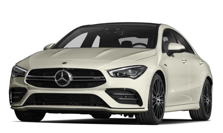 Mercedes-AMG CLA 35 4MATIC สีขาว Digital White