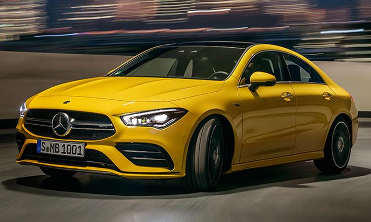 ราคา ตารางผ่อนดาวน์ Mercedes-AMG CLA 35 4MATIC 2020
