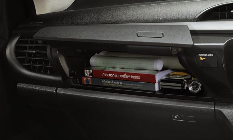 ช่องเก็บของ Toyota Hilux Revo Standard Cab