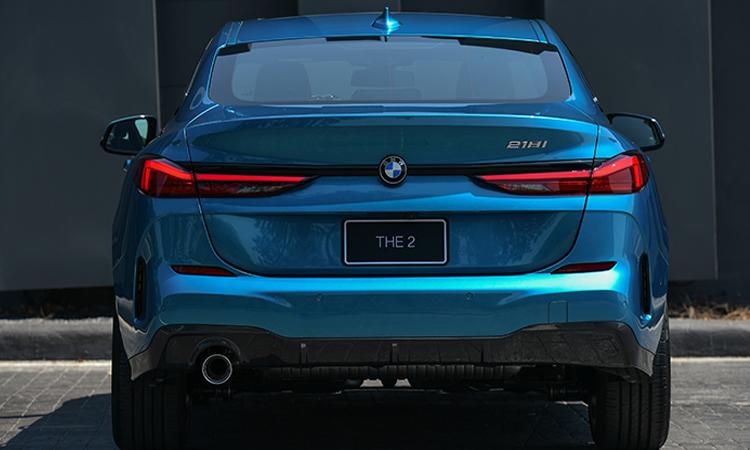 ท้าย BMW 218i Gran Coupe'