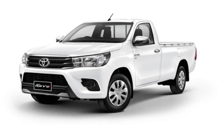 Toyota Hilux Revo Standard Cab สี Super White