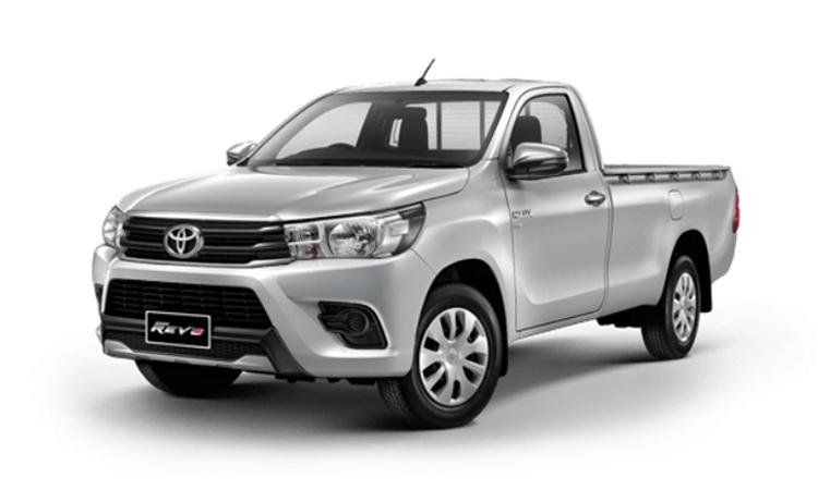 Toyota Hilux Revo Standard Cab สี Silver Metallic