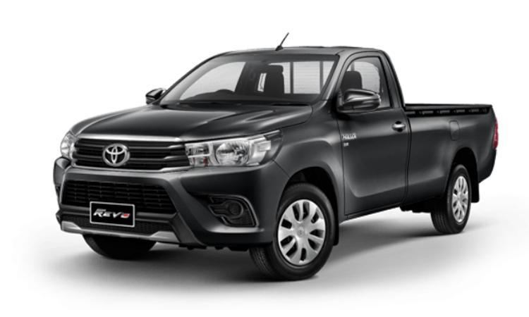Toyota Hilux Revo Standard Cab สี Dark Gray Mica Metallic