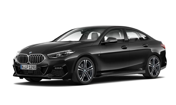 สีตัวถัง BMW 218i Gran Coupe' สีดำ