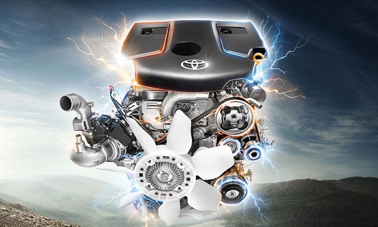 เครื่องยนต์ Toyota Hilux Revo Standard Cab