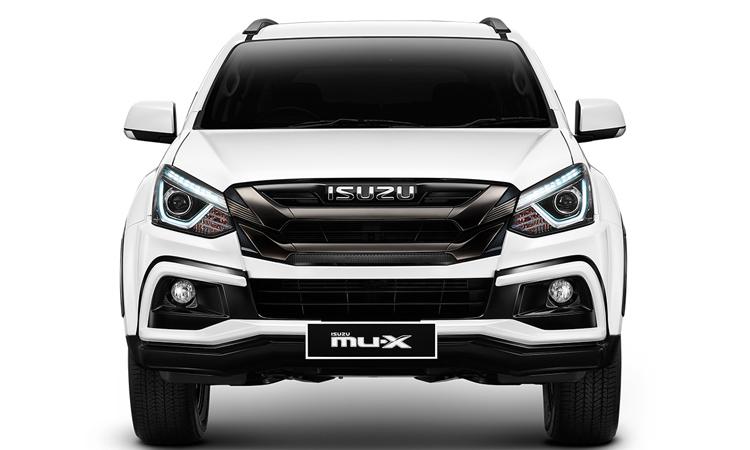 ดีไซน์ด้านหน้า Isuzu MU-X The New ONYX สั