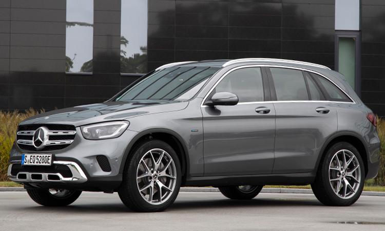 มุมข้าง Hybrid Mercedes-Benz GLC 300e Plug-in